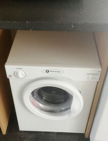 White Knight C3A compact vented 3kg tumble dryer, C energy rating, bought last year