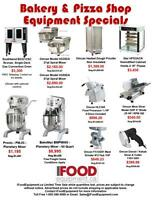 Restaurant and Bakery Equipment Sale