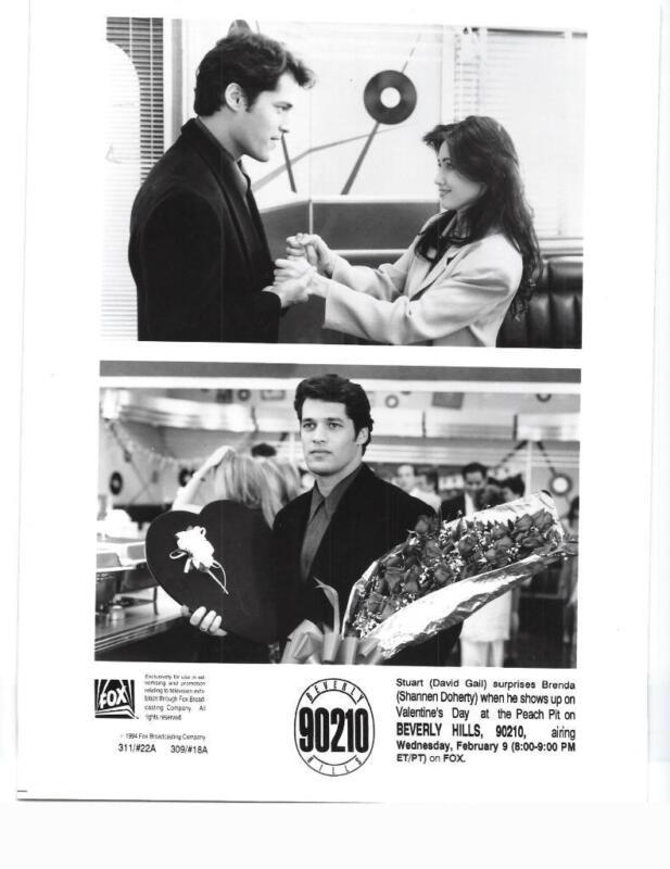 "David Gail Shannen Doherty  ""Beverly Hills 90210"" TV Still"