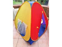 ELC Pop-up tent and tunnel - can be used indoors or outdoors £7
