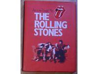 MUSIC MEMORABILIA BOOKS (£ 5 each)=According to the Rolling Stones + Encyclopaedia of Rock.Read