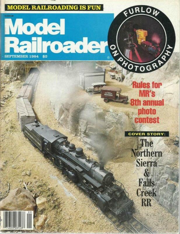 Model Railroader September 1984 New Orleans Streetcar Drawings How Diesels Work