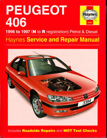 HAYNES PEUGEOT 406 SERVICE & REPAIR MANUAL COVERS PETROL AND DIESEL