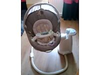 Graco Sweetpeace baby Swing- Dream
