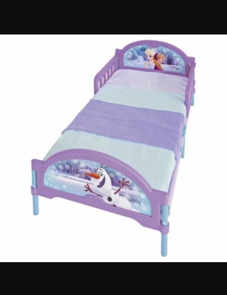 Frozen Toddler Bed.