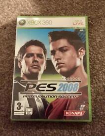 PES 2008 (Pro Evolution Soccer) for Xbox 360