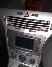 Touch and connect stereo/ sat nav vauxhall