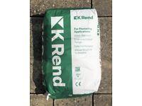 K Rend UF Standard Base 25 Kg Bag Render (38 bags available)