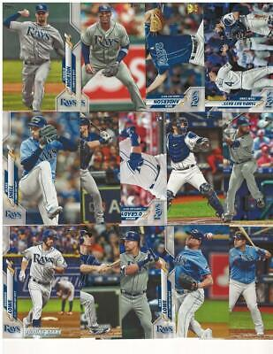 2020 TOPPS Series 2 TAMPA BAY RAYS team set (14 cards) O'Grady RC