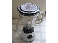 Bifinett blender liquidiser, large glass jug, 5-speed with pulse, boxed, used once