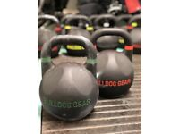 Bulldog gear kettlebells CrossFit 10-48kg competition RRP £1200