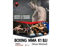 Oliver Mitchell Personal training in Gosport **weight loss, boxing, MMA, Brazilian jiu jitsu