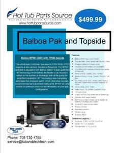Hot Tub Parts - Balboa Spa pak and topside 220V