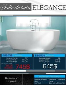 Liquidation! New, 12 freestanding baths for less than $ 995