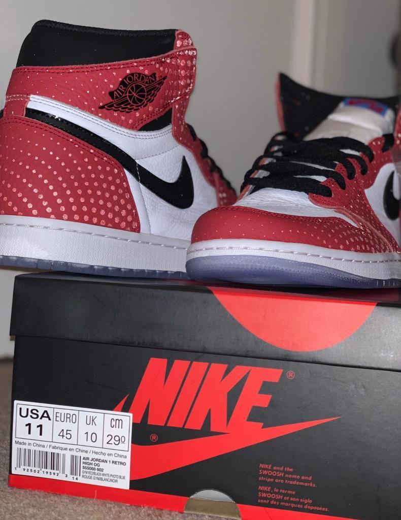 550a7c85091 Nike Air Jordan 1 'Origin Story' Spider-Man UK10 | in Epsom, Surrey ...