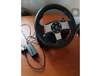 Logitech G27 Gaming Steering Wheel and Shifter