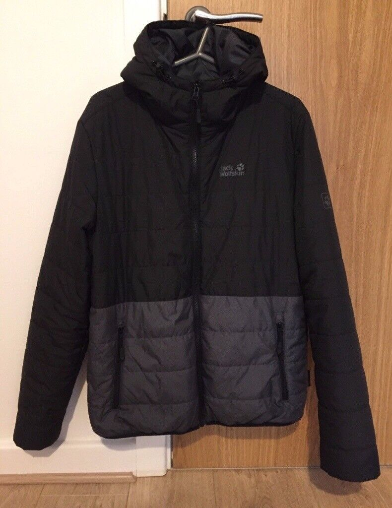 Jack Wolfskin winter jacket, size M. Grey and Black. Great condition.
