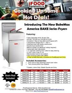 Commercial Gas Cooking Equipment Sale - 2 Year Warranty - Ranges, Griddles, Fryers, Charbroilers & More