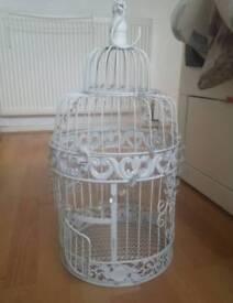 Large ornamental bird cage