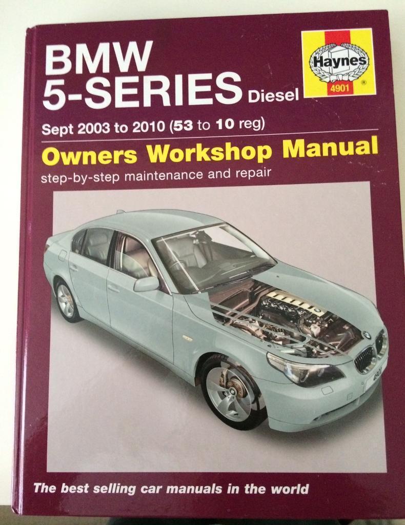 Haynes Manual: BMW E60 5 series diesel