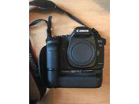 Canon EOS 5D Mark II + EXTRAS! BG E6 Battery Grip, E1 Strap, CF Card & Batteries