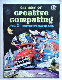 Book The Best of Creative computing 1977