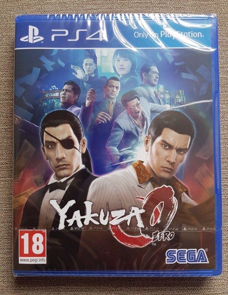 Yazuka Zero - Sony Playstation 4 - BRAND NEW & SEALED - Amazing PS4 Action Adventure Game Yakuza 0
