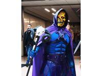 Skeletor adult cosplay fancy dress