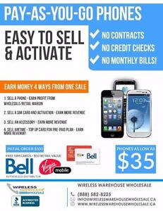 Join the Wireless Revolution - Begin Selling Pre-Paid Cell Phones and Earn More!