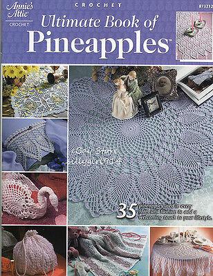 "Шаблоны ""ULTIMATE BOOK OF PINEAPPLES""~Annie's CROCHET"