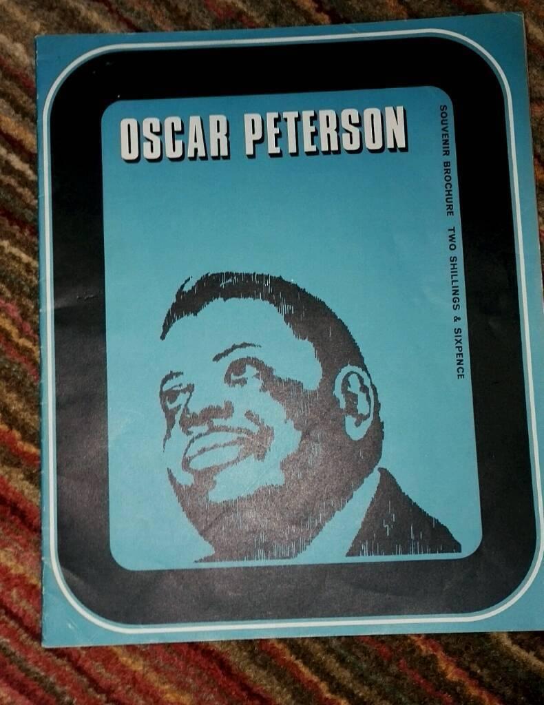 Oscar Peterson Trio Tour 1968 Programme.