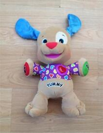 Fisher Price Laugh and Learn Puppy baby learning toy
