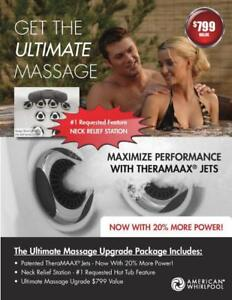 ULTIMATE MASSAGE UPGRADE - ONLY AT THE SPA SPOT - BEST HOT TUBS & SWIM SPAS