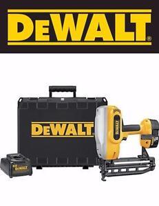 DeWalt Cordless 16 gauge Nailer Nail Gun 18v XRP (DC616K)