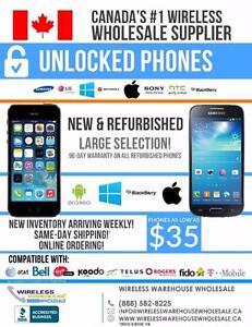 Join the Wireless Revolution - Wholesale Unlocked Cellular Phones - Great Margins!