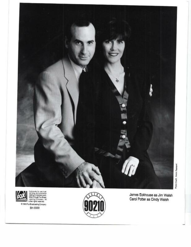 "James Eckhouse Carol Potter ""Beverly Hills 90210"" TV Still"