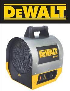 DeWalt DXH330 Forced Air Electric Construction Heater