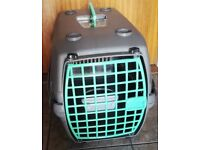Large cat carrier.