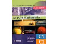 MEI Structured Mathematics AS Pure Mathematics C1, C2