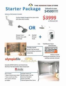 Complete Bathroom Packages-Everything you need for your bathroom-15% off till February 15!!!
