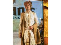 Asian sherwani wedding outfit