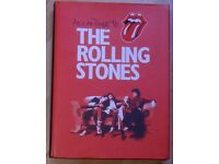 ACCORTING TO THE ROLLING STONES.Fantastic 360 pag.Hard cover book.BARGAIN at £8.Orig.price £30.LOOK