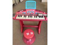 ELC guitar+keyboard toys + Fisher Price Duck 3in1 Potty + LeapFrog Laptop + fancy dresses