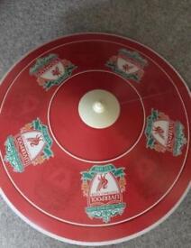 Liverpool football uplighter lamp shade unused
