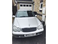 Mercedes Benz Automatic C Class C220 Silver