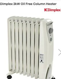Brand New Dimplex Oil Filled Heater