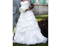 Beautiful Ivory Wedding Dress Size 8-10