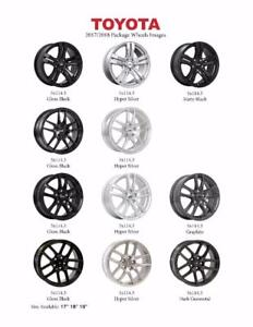 Winter/Snow Tire Rim Package Options From $ 600tax in@TOTOTIRE
