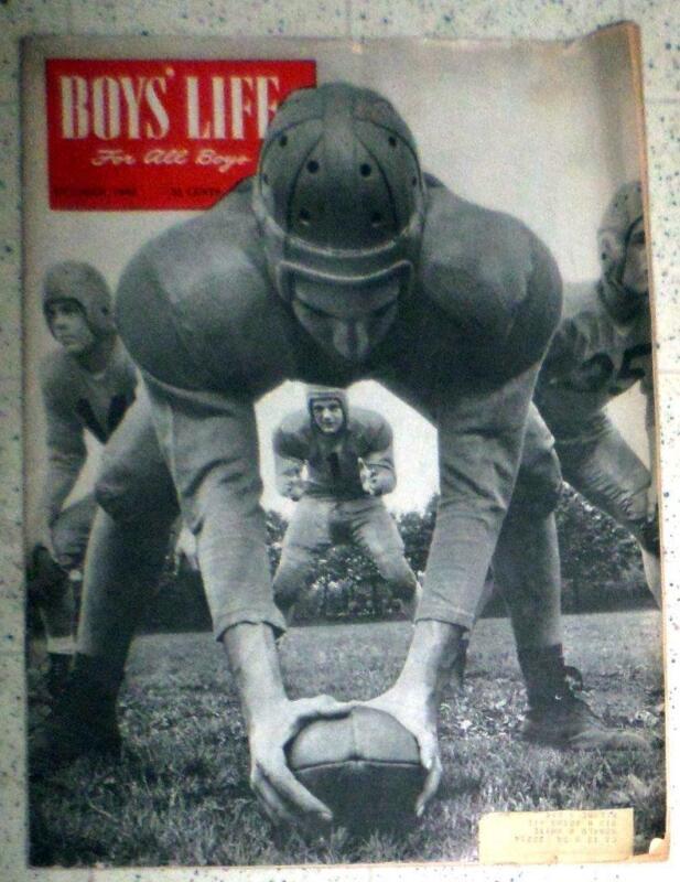 Vintage BSA October 1948  Boys