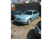 '03 ROVER 75 DIESEL (BMW ENGINE & LEATHER SEATS) SPARES / REPAIRS.